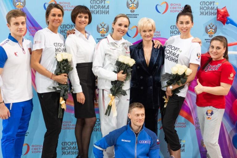 Мастер-классы от Олимпийских чемпионов