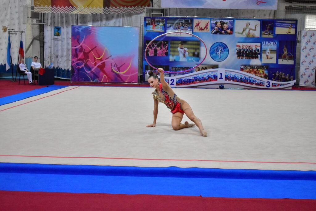II этап летней Спартакиады молодежи  России по художественной гимнастике