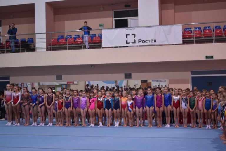 Первенство Белгородской области по спортивной гимнастике.